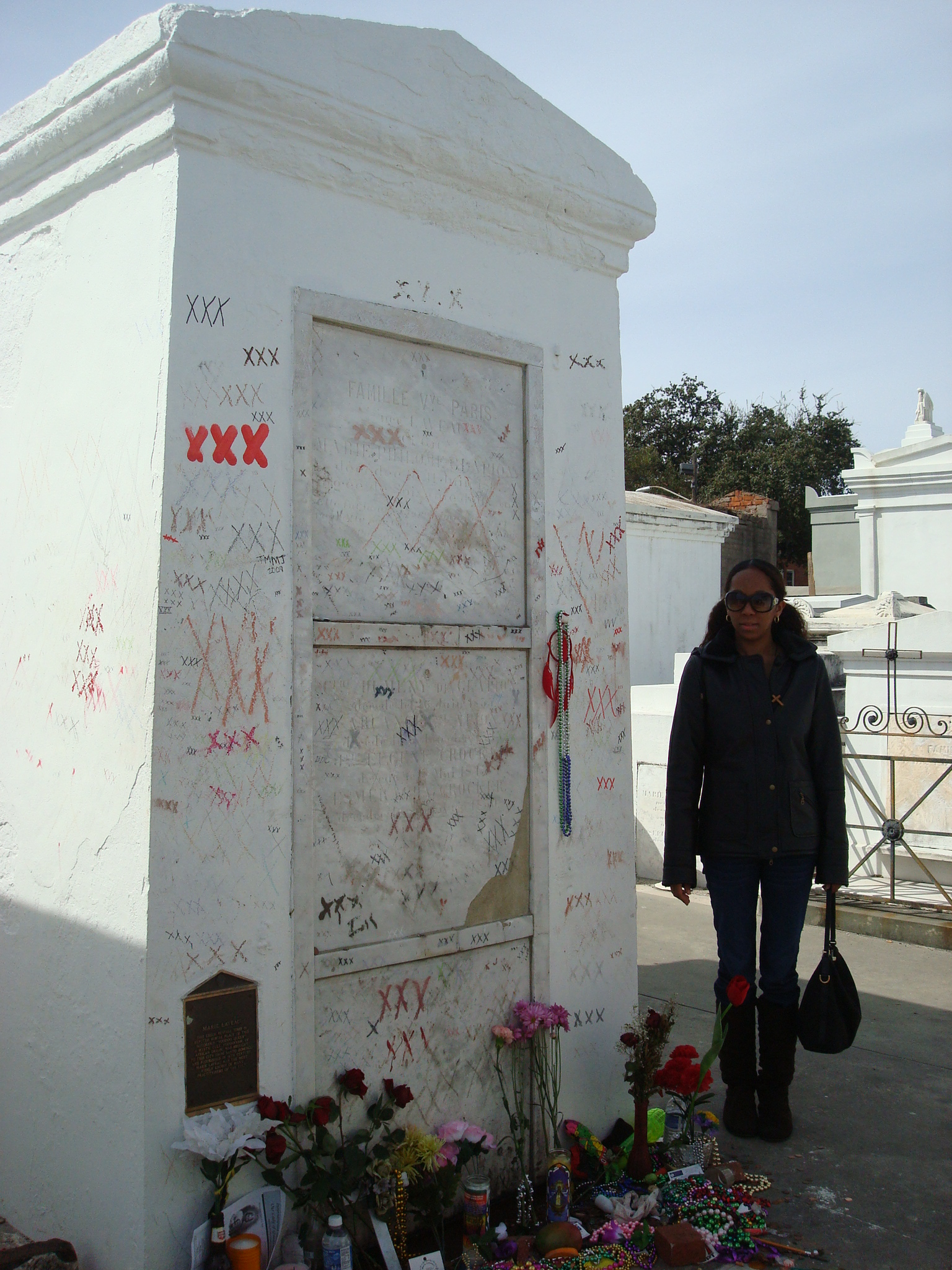 Me and Madame Marie Laveau | ErzulieRedEyesArtAndSpirit