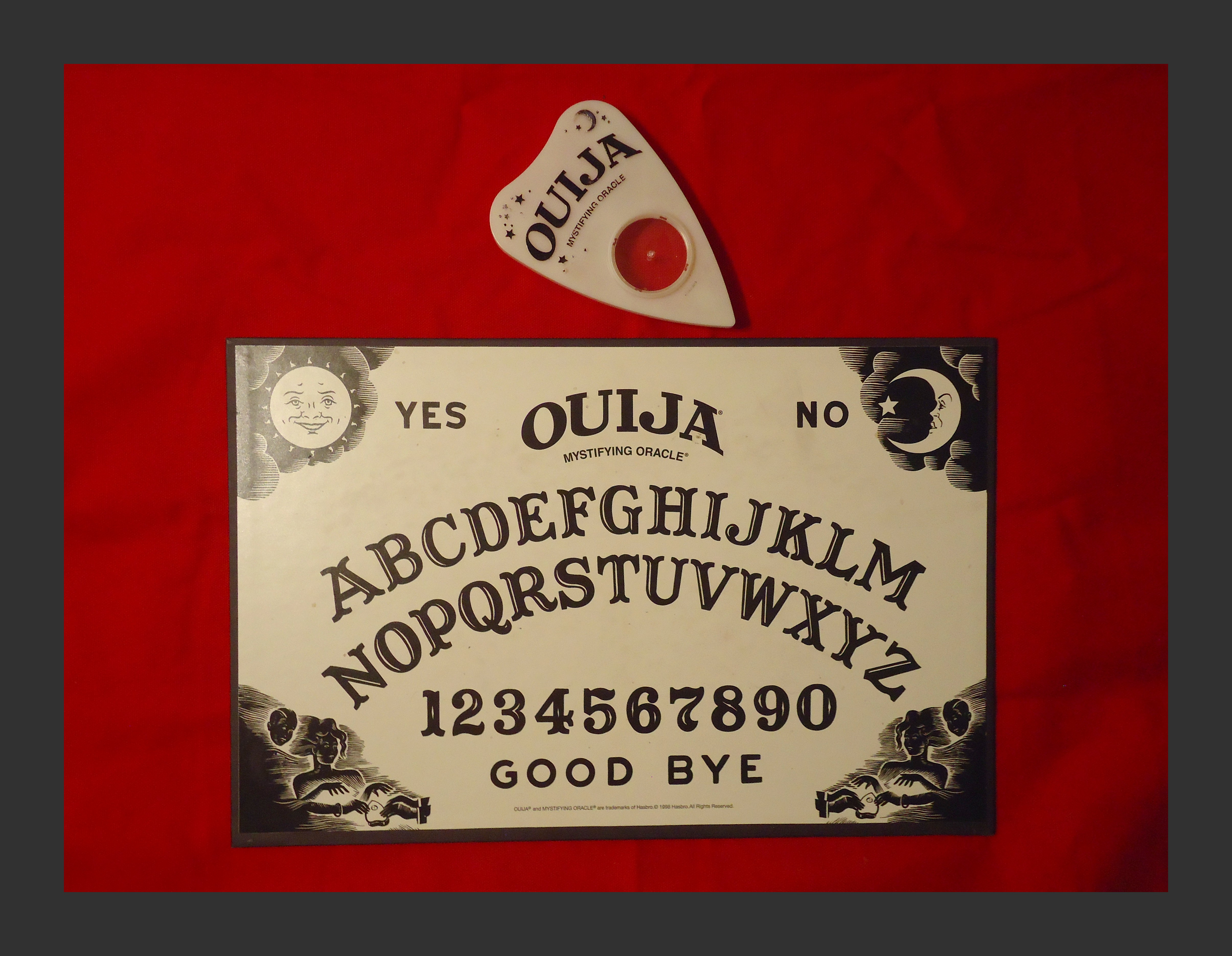Snapshot Ouija Board Its Only Game Copyright